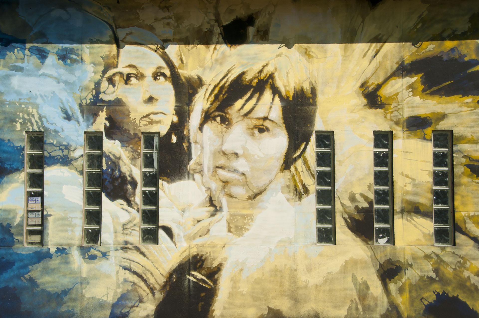 Miami Wynwood Street Art – Karen Chen
